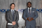 Sean Combs And Mark Wahlberg at a press conference to announce their newest venture, Water Brand AQUAhydrate  West Hollywood, California on 02/27/2013 of WahlbergMAND1_0227_JS_SS.jpg : Celebrity Photo Agency +1.323.469.2020 (c) Shooting Star Agency
