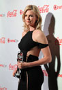 CinemaCon Final Night Talent Awards  Las Vegas, Nevada on 04/26/2012 Photos by: Vegas Vic Shooting Star of TheronCharlize1_0426_VV_SS.jpg : Celebrity Photo Agency +1.323.469.2020 (c) Shooting Star Agency